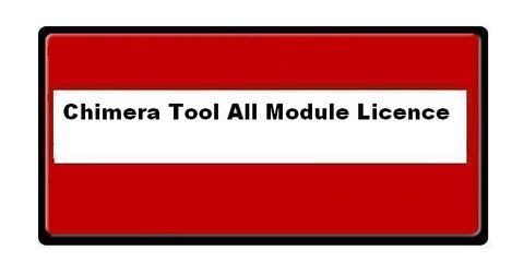 Chimera Tool All Module License 12 Months Activation