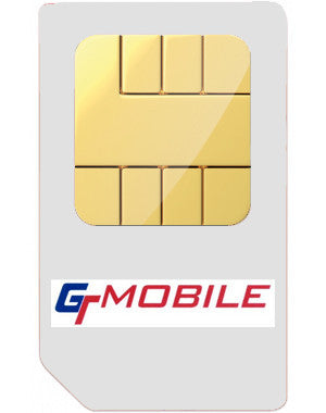 GT Mobile Network Pay As You Go Mobile Phone Sim Card