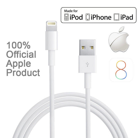 Apple Genuine iPhone 5/5S/5C 6/6S 7/7+ iPad iPod USB Data / Charger Cable