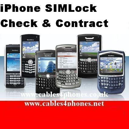 iPhone SIMLock Check & Contract By Imei