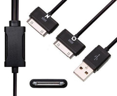 iPhone 3G/3GS 4/4S Dual USB Charging Data Cable