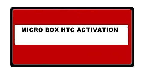 Micro Unlock Box HTC Activation