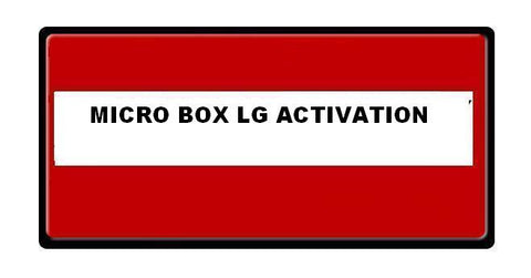 Micro Unlock Box LG Activation