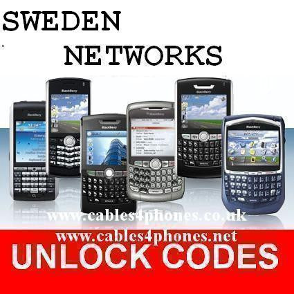 Sweden Tele2 iPhone 3GS 4/4S 5/5C/5S 6/6+ 6S/6S+ 7/7+ Unlock