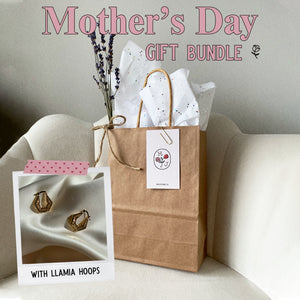 Llamia Geometric Hoops | Mother's Day Gift Bundle