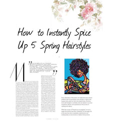 How to Instantly Spice Up 5 Spring Hairstyles