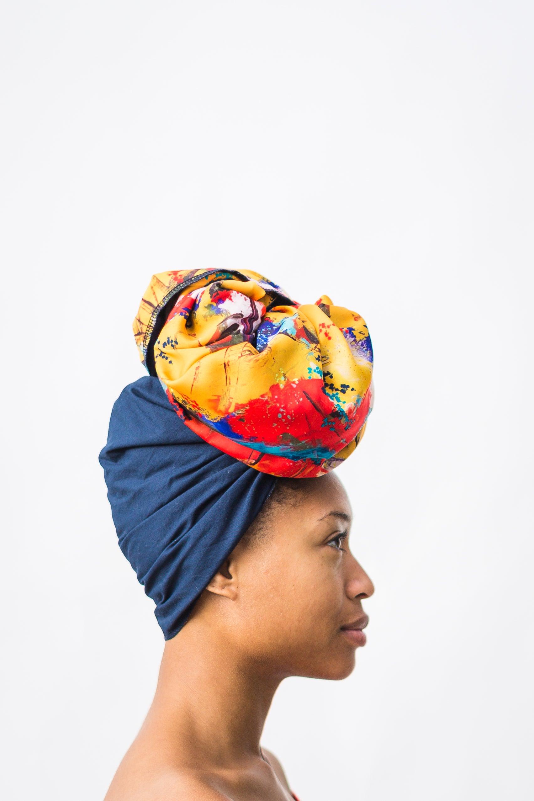 ruby sampson product cocktail silk lined head wrap