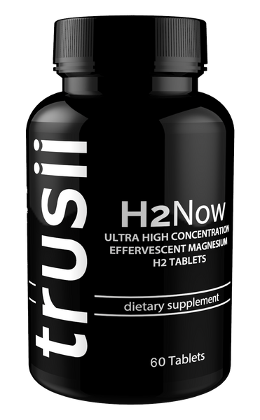 trusii H2Now Molecular Hydrogen Tablets 1 bottle