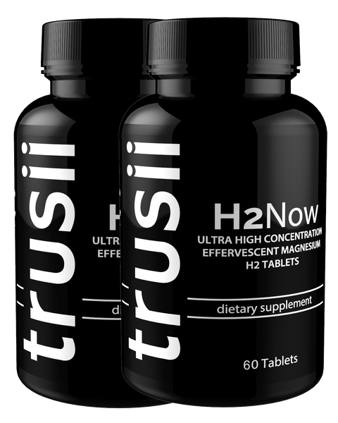 trusii H2Now Molecular Hydrogen Tablets 2 bottle