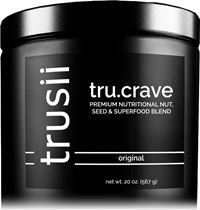 trusii tru.crave nut butter superfood blend