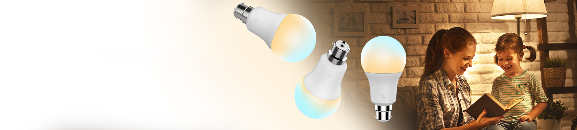 "<style> div.a {   line-height: 120%; } </style> <div class=""a""> <span style=""color: #404040;"">Smart Bulb</span><br><span style=""color: #404040;"">Ambient White</span></div>"