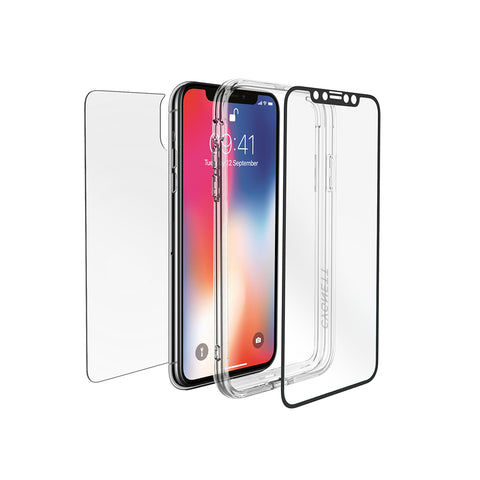 iPhone XS Max Front/Back Glass Protection & Bumper Frame - Cygnett (AU)