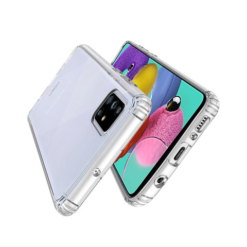 Slim Clear Protective Case for Samsung Galaxy A51 - Crystal - Cygnett (AU)