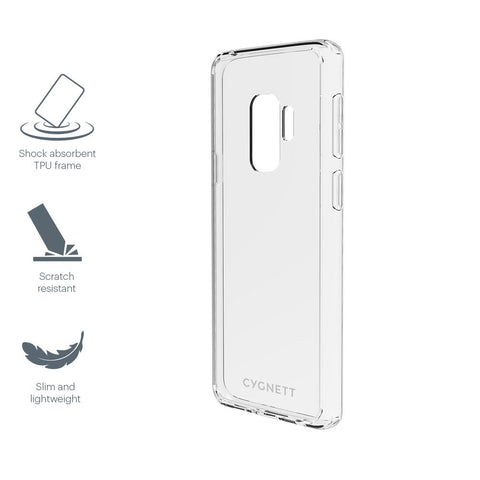 Slim Clear Protective Case Samsung Galaxy S9 Plus - Cygnett (AU)