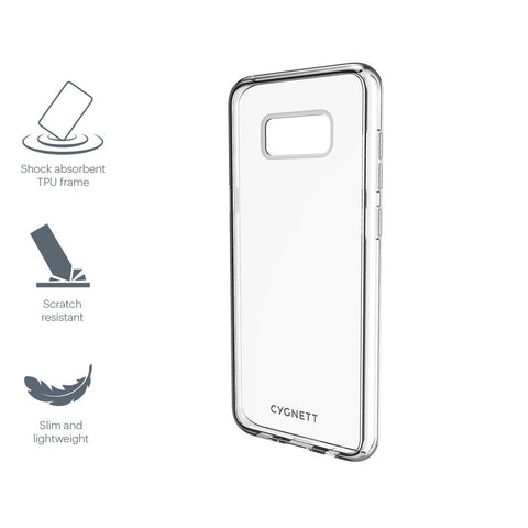Slim Clear Protective Case for Samsung Galaxy S8 - Cygnett (AU)