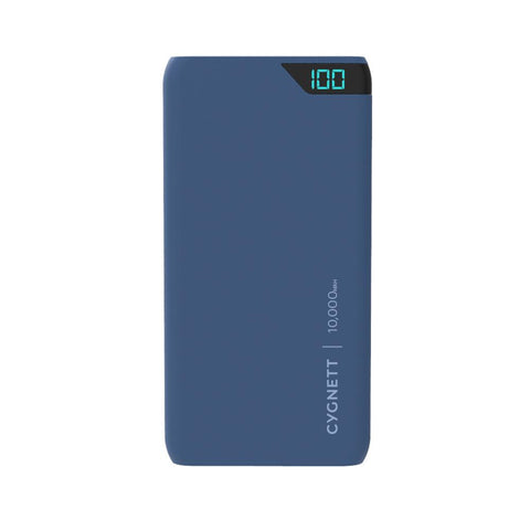 10,000 mAh Power Bank - Navy - Cygnett (AU)