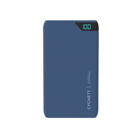5,000mAh Power Bank in Navy - Cygnett (AU)