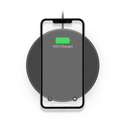 Wireless Desk Phone Charger - Black - Cygnett (AU)
