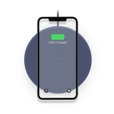 Wireless Desk Phone Charger - Navy - Cygnett (AU)
