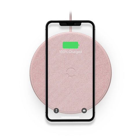 Wireless Desk Phone Charger - Pink - Cygnett (AU)