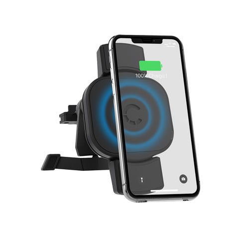 10W Wireless 2-in-1 Smartphone Car Charger - Vent Mount - Cygnett (AU)