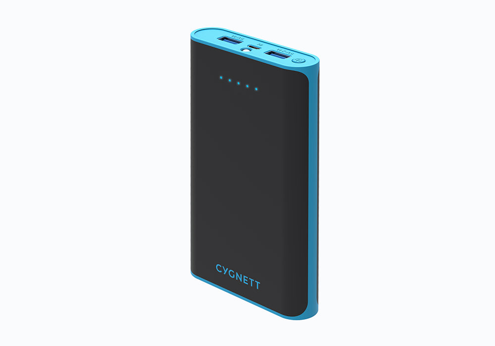15,000mAh Portable Power Bank in Blue