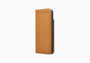 iPhone 8 & 7 Leather Wallet Case in Tan