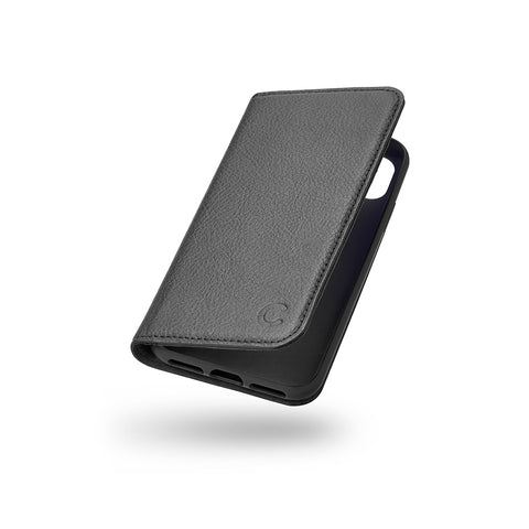 iPhone XR Leather Wallet Case - Black - Cygnett (AU)