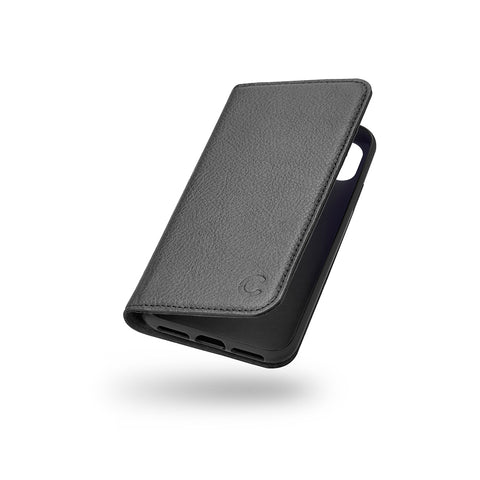 iPhone XS & X Leather Wallet Case - Black - Cygnett (AU)