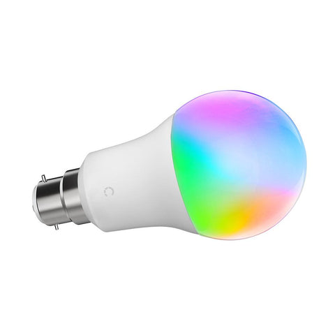Smart Wi-Fi LED Bulb A19 Colour & Ambient White (B22) - Cygnett (AU)