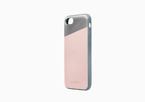 iPhone 8 Plus & 7 Plus Leather Case in Pink Sand