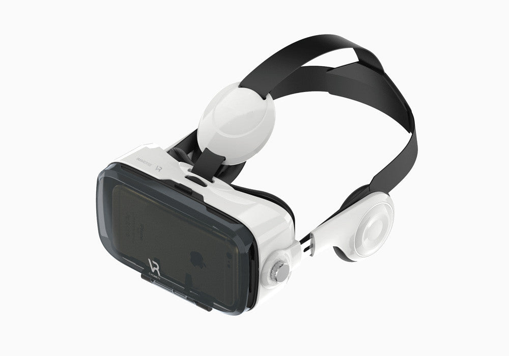 Virtual Reality Headset for Android in White