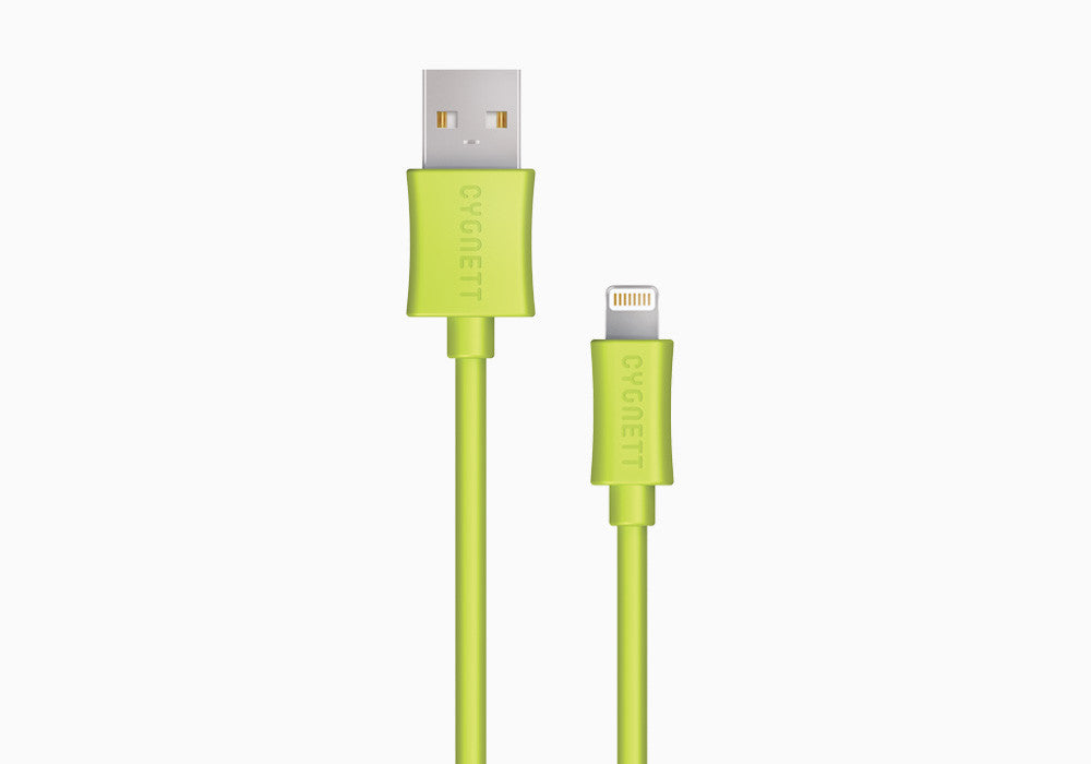 Lightning to USB Cable 1.2m - Green
