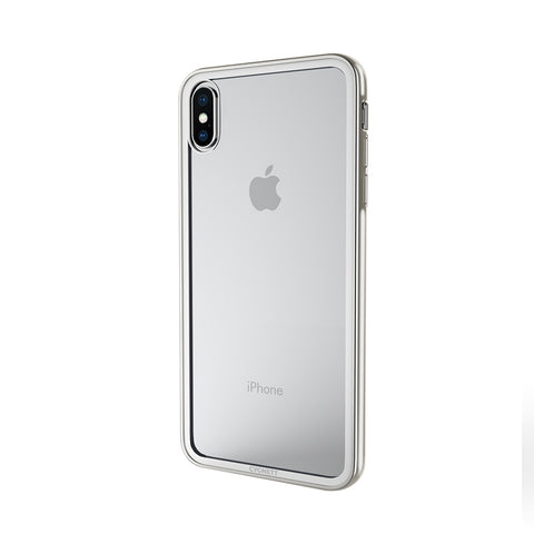 iPhone XS Max Tempered Glass Case - Silver - Cygnett (AU)