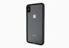 iPhone Xs & X Tempered Glass Case in Black