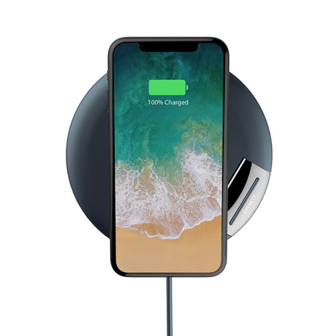 10W Wireless Phone Charger - Navy - Cygnett (AU)