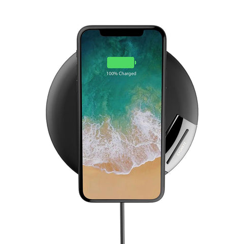 10W Wireless Phone Charger - Black - Cygnett (AU)