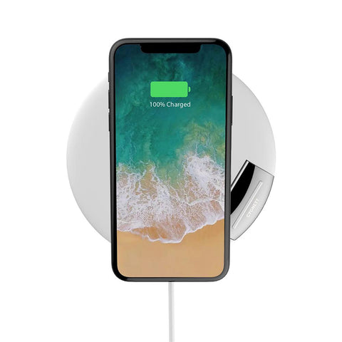 10W Wireless Phone Charger - White - Cygnett (AU)
