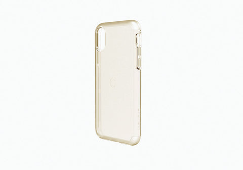iPhone Xs & X Slimline Protective Case in Gold