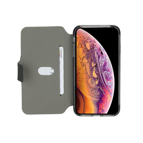 iPhone Xs & X Protective Wallet Case in Black - Cygnett (AU)