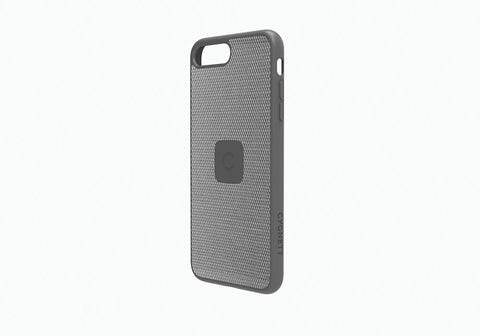 iPhone 8 & 7 Slim Case with Carbon Fibre in Silver