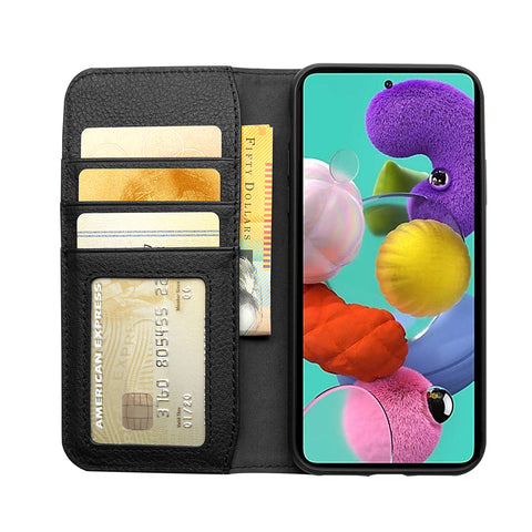 Wallet Case for Samsung Galaxy A51 - Black - Cygnett (AU)