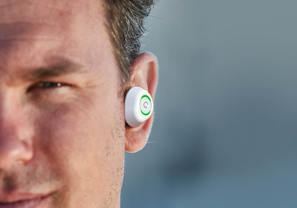 Bluetooth® Earphones in White