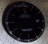 "Rolex Mens Day-Date/""Presidential"" Dial - Black - Kupfer Jewelry - 2"