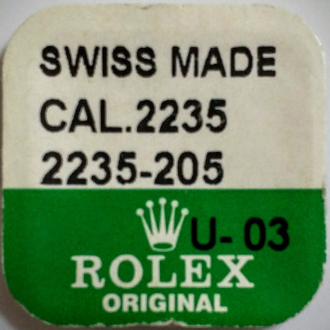 Rolex Sliding Pinion Cal. 2235 2235-205 (Factory Sealed) - Kupfer Jewelry - 1