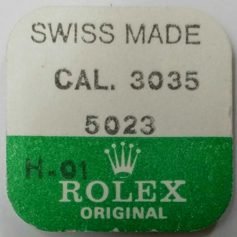 Rolex Small Plate for Stud Holder Cal. 3035 3035-5023 (Factory Sealed) - Kupfer Jewelry - 1