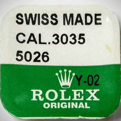 Rolex Winding Pinion Cal. 3035 3035-5026 (Factory Sealed) - Kupfer Jewelry - 1