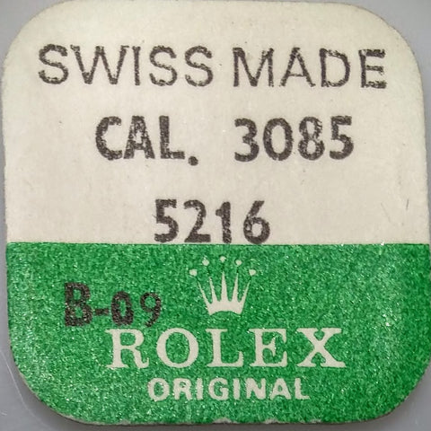 Rolex Intermediate Setting Wheel Cal. 3085 3085-5216 (Factory Sealed) - Kupfer Jewelry - 1