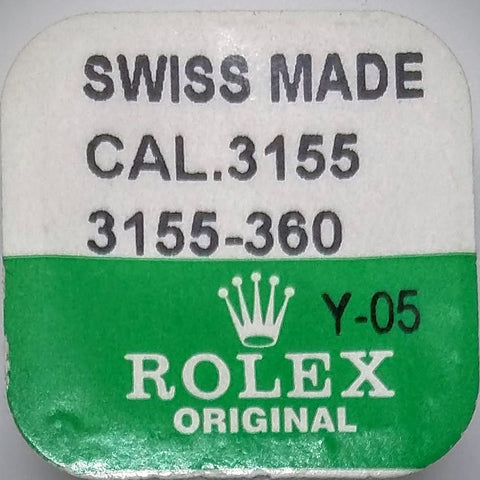 Rolex Second Wheel Cal. 3155 3155-360 (Factory Sealed) - Kupfer Jewelry - 1