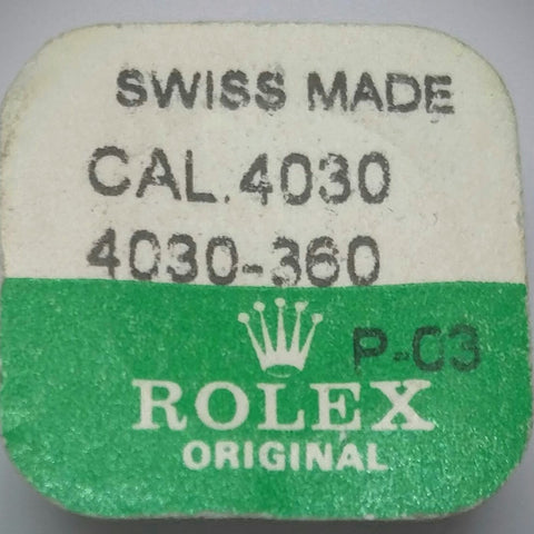 Rolex Second Wheel Cal. 4030 4030-360 (Factory Sealed) - Kupfer Jewelry - 1